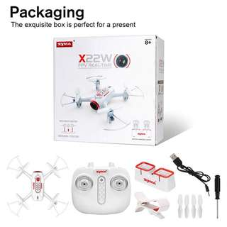 Syma drone X22w wifi fpv camera HD suport iphone & Android