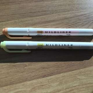 Pastel Mildliner Highlighter