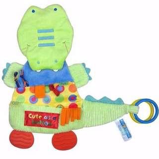 🦁Instock - sensory crocodile toy, baby infant toddler girl boy unisex children sweet kid happy abcdefg