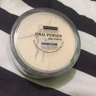 Nichido Final Powder Creamy Glow
