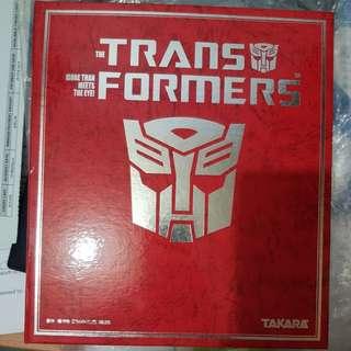 Transformers Book series folder