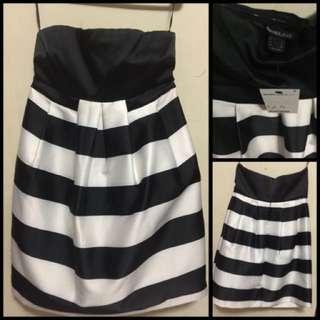 SUITEBLANCO Strapless Party Dress