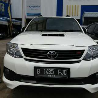 Toyoto Fortuner G diesel 2.5 AT VNT TRD 2014