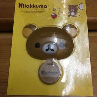 包平郵 只限郵寄 正版 輕鬆小熊 鬆弛熊 拉拉熊 輕鬆熊 鏡子 隨身鏡 mirror san-x Rilakkuma