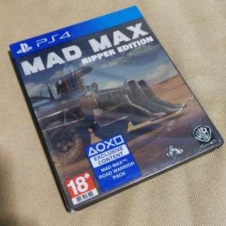 PS4 Mad Max Ripper Edition