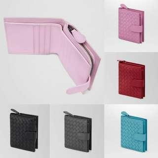 Bottega Veneta Intrecciato Nappa Mini Wallet