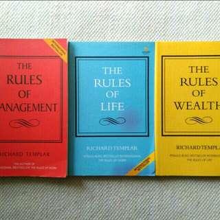 The Rules of Management, Life and Wealth (Richard Templar) 3buku