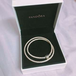 PANDORA - 皮革串珠手繩