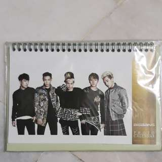Big Bang Photo Calander