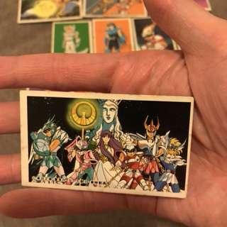 聖鬥士星矢 懷舊遊戲咭 80年代 超罕有 購置日本中野