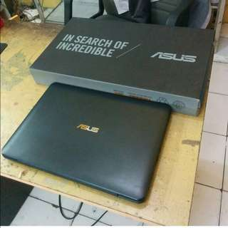 LAPTOP ASUS X454YA RAM 4GB TERIMA KREDIT