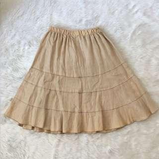Unbranded khaki skirt (stained)