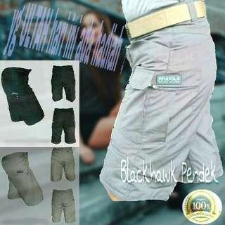 Celana pendek blackhawk premium