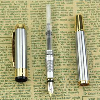 Gold & Silver Fountain Pen