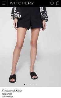 Structured short size 6