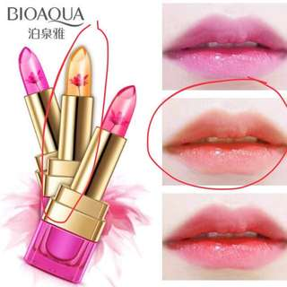 Bioaqua Jelly Lipstick with Flower inside