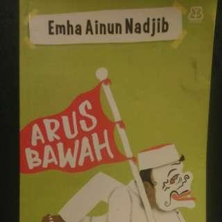 Arus bawah.  Emha Ainun Nadjib. Bentang 2015. 238 halaman.