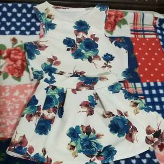 Baby girl floral wear