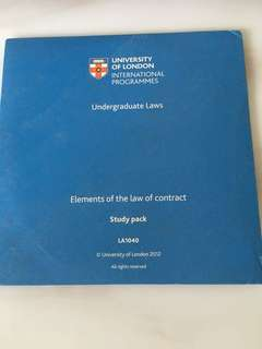 Uol contract law dvd textbook
