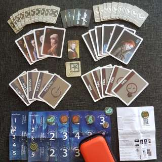 The Resistance Board Game (Portable) with Pouch