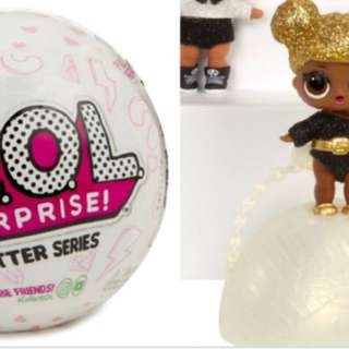 Lol surprise glitter series Limited Authentic!