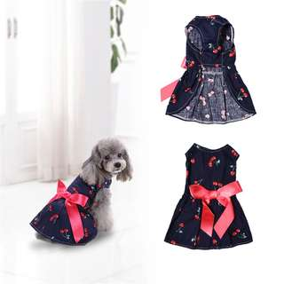 CHERRY GALORE DRESS FOR PETS