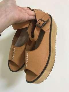 Korean platform sandals
