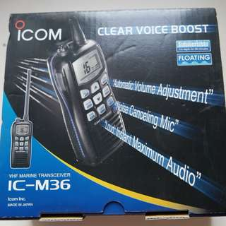 ICOM IC-M36 VHF Marine Transceiver