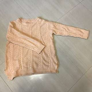 Knitted Sweater/Top in Camel