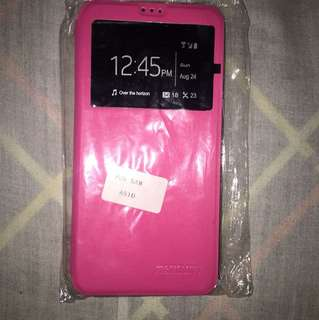 A5 2017 flip case color pink