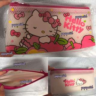 Last PCS Left Hello Kitty Waterproof Stationery Pencil Pouch