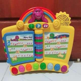 Buku Elektronik Barney