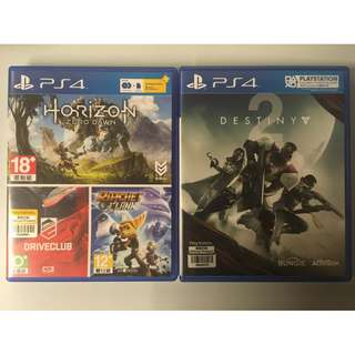PS4 game X 2
