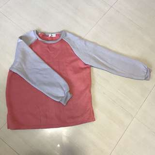 Pink & Grey pullover
