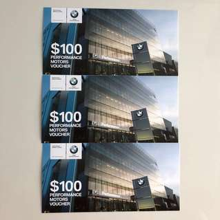 Highly Discounted BMW $300 Voucher - Selling $250