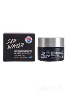 Miniso Sea Water Men Ocean Refreshing Oil Control Cream