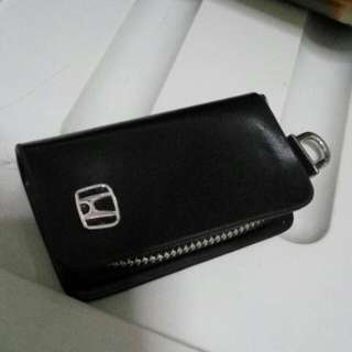 Honda leather smart key holder case pouch
