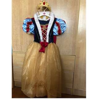 Snow White Gown Costume