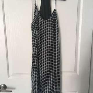 Missguided split side dress