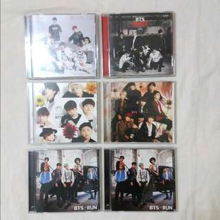BTS Japanese Album Run, I Need U, For You, Danger