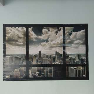 New York Window Poster (91x61)