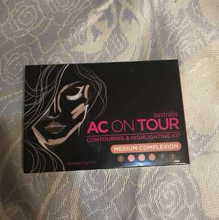 AC On Tour Powder Contouring & Highlighting Palette
