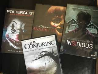 Set of Horror Movies