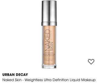 Urban Decay URBAN DECAY Naked Skin - Weightless Ultra Definition Liquid Makeup (PM me for the shade available)