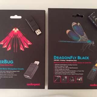 Dragonfly Black and Jitterbug Usb Dac