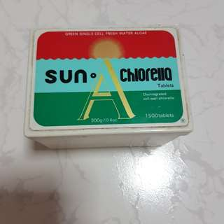 Sun Chlorella Container box