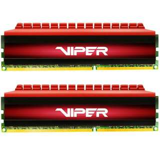 Patriot Viper DDR4 3200mhz 2 x 8gb = 16gb RAM memory for desktop computer dual channel 3200