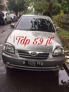 Jual Hyundai Avega 2008 A/T