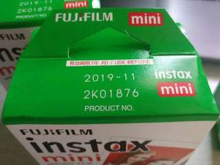 [NEW]FUJIFILM INSTAX MINI FILM 20pcs #15Off