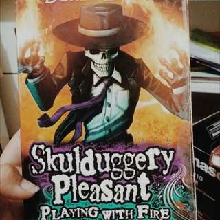 Skulduggery Pleasant; Playing With Fire